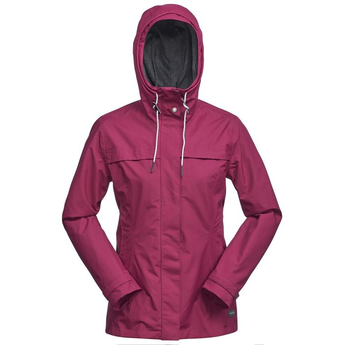 Jacke 3-in-1 Travel 100 Damen rosa