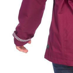 女款3合1健行旅遊外套TRAVEL 100-粉紅色