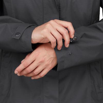Жіноча куртка 3-в-1 TRAVEL 100 для трекінгу - Сіра