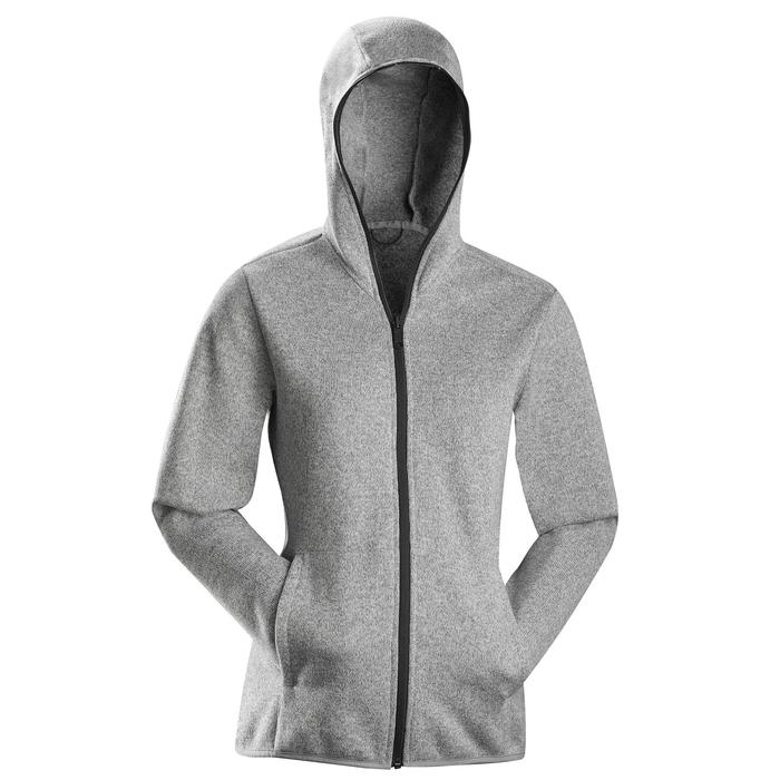 Jacke 3-in-1 Travel 100 Damen grau