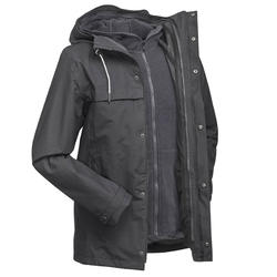 Men's 3in1 Waterproof Travel Jacket Travel 100 - Grey