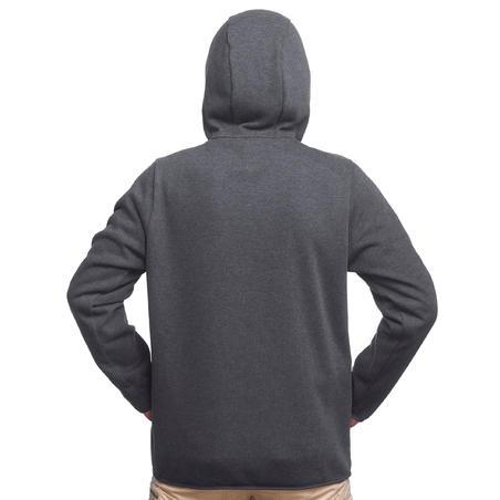 Чоловіча куртка TRAVEL 100 для трекінгу, 3-в-1 - Сіра