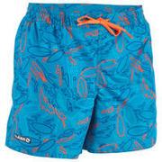 Turkizne plavalne kratke hlače 100 za otroke