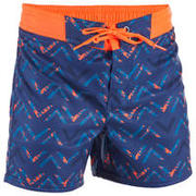 Surf Boardshort corto 500 Kid Chibou Red