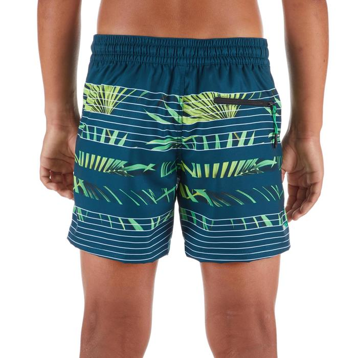 Surf boardshort kort 500 Tween Palm Green