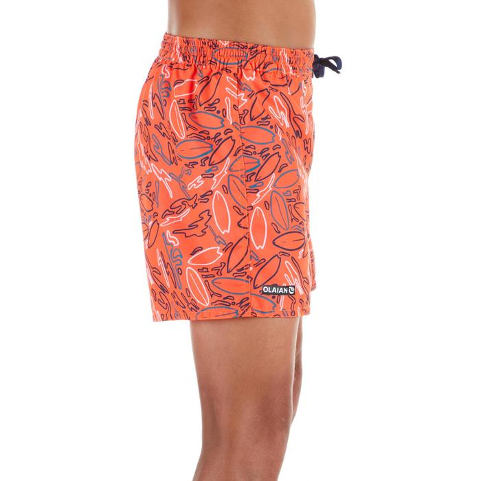 Surf Boardshort corto 100 Kid Red