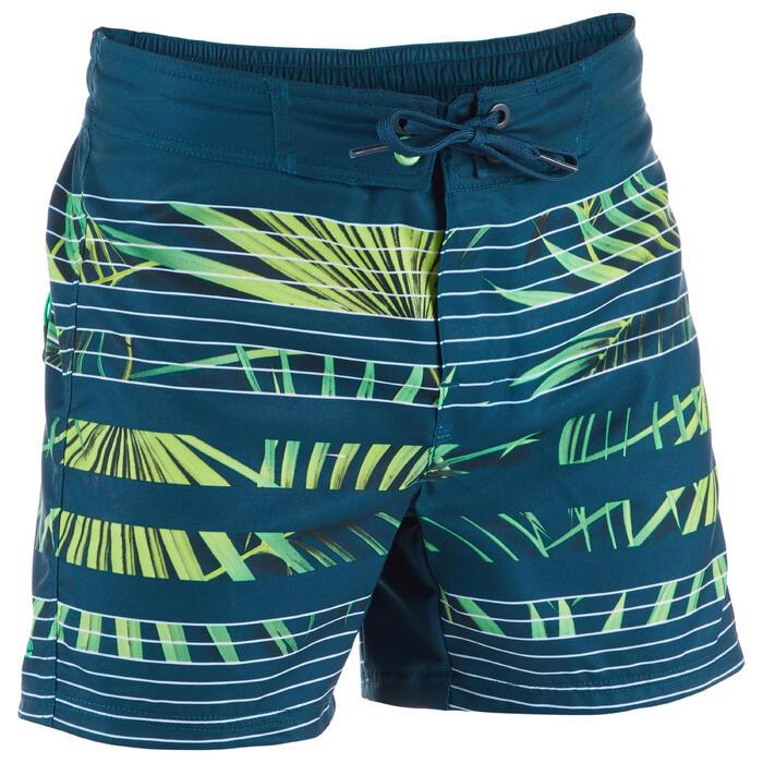 Surf Boardshort corto 500 Tween Palme Green