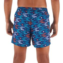 Surf Boardshort court 100 Kid Pacific Red