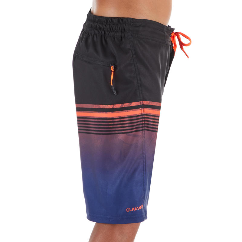 กางเกงชายหาดรุ่น BS 500L TWEEN (สีแดงอ่อน)