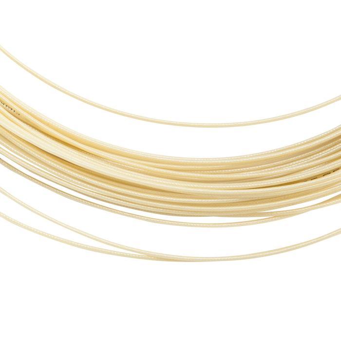 Badmintonbesaitung Nanogy 95 weiß