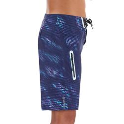 Surf Boardshort long 900 Tween Obscurwave Blue