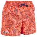 BOY'S BOARDSHORTS Swimwear and Beachwear - BBS 100 Kids' Board - Red OLAIAN - Swimwear and Beachwear