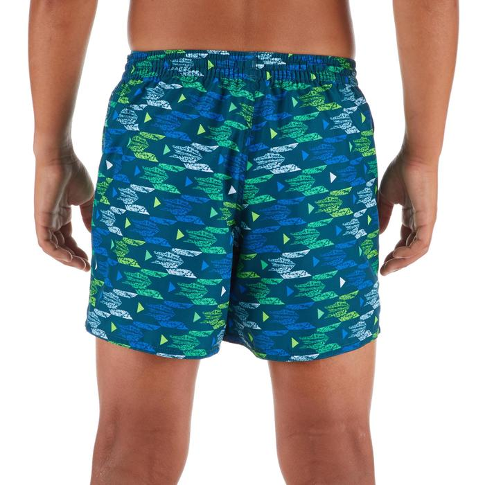Surf Boardshort court 100 Kid Pacific Turquoise