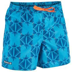 100 Short Surfing Boardshorts - Ethnic Turquoise
