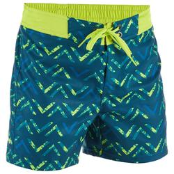 Korte boardshort 500 Kid Chibou Green