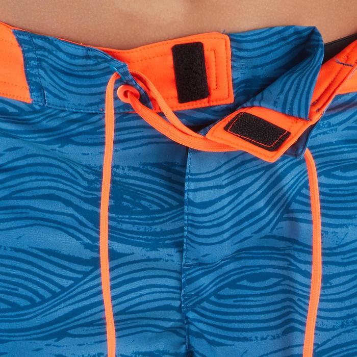 Surf boardshort kort 500 tween Linowave turquoise
