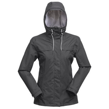 Travel 100 3-in-1 Trekking Travel Jacket Grey - Women