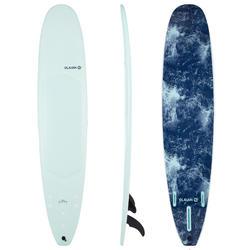 Surfboard 900 Schaumstoff Soft 9' Longboard 100l inkl. 2+1 Finnen