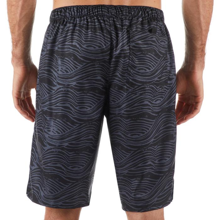 Surf boardshort lang 100 Flake Stamp Black