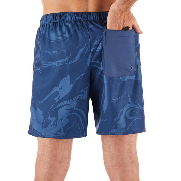 Surf boardshort court 100 Aqua Grey