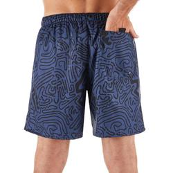 Surf boardshort court 100 Labyrinthe Black