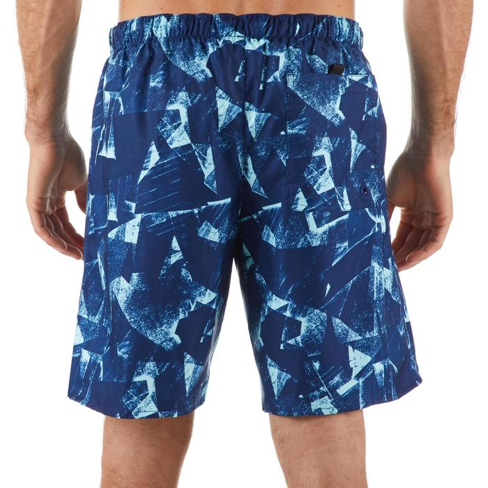 Boardshorts Surfen Standard 100 Papercut blau