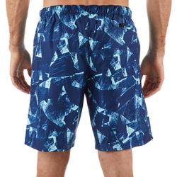 Surf boardshort standard 100 Papercut Blue