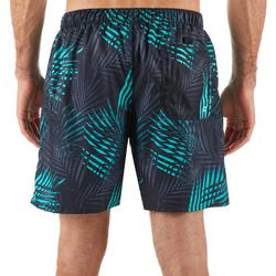 Korte surf boardshort 100 Palm munt