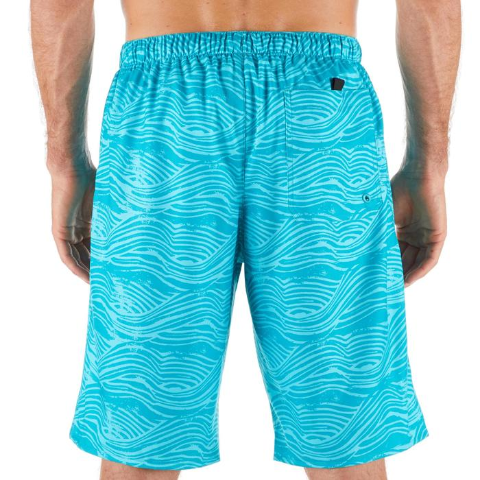 Surf boardshort lang 100 Fake Stamp turquoise