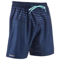 Boardshorts Surfen Standard 100 Newwaves blau