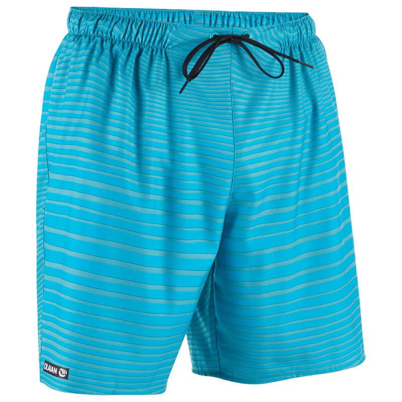 MEN'S BEGINNER BOARDSHORTS Swimming - BS 100S - Newwaves Turquoise OLAIAN - Swimwear
