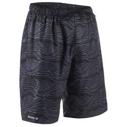 100 Long Surfing Boardshorts - Fake Stamp Black