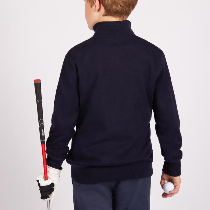 Winddichte golftrui voor kinderen marineblauw