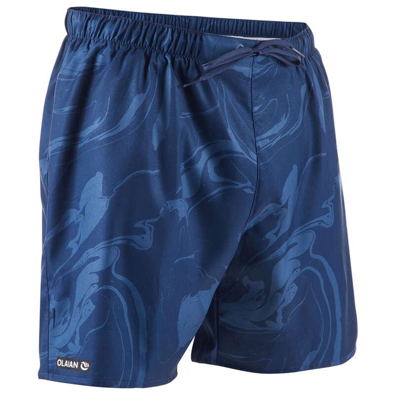 MEN'S BEGINNER BOARDSHORTS Swimwear and Beachwear - BBS 100 - Aqua Grey OLAIAN - Swimwear and Beachwear
