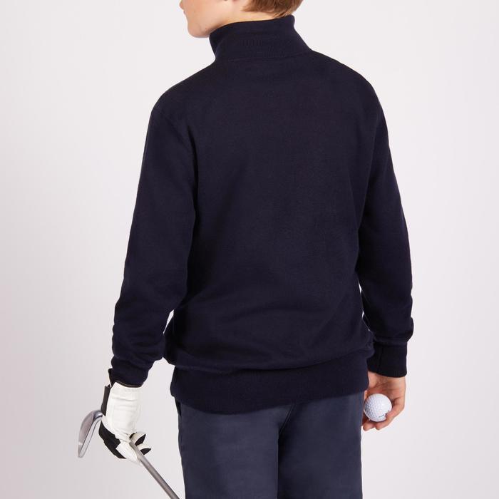 Golf Pullover winddicht Kinder marineblau