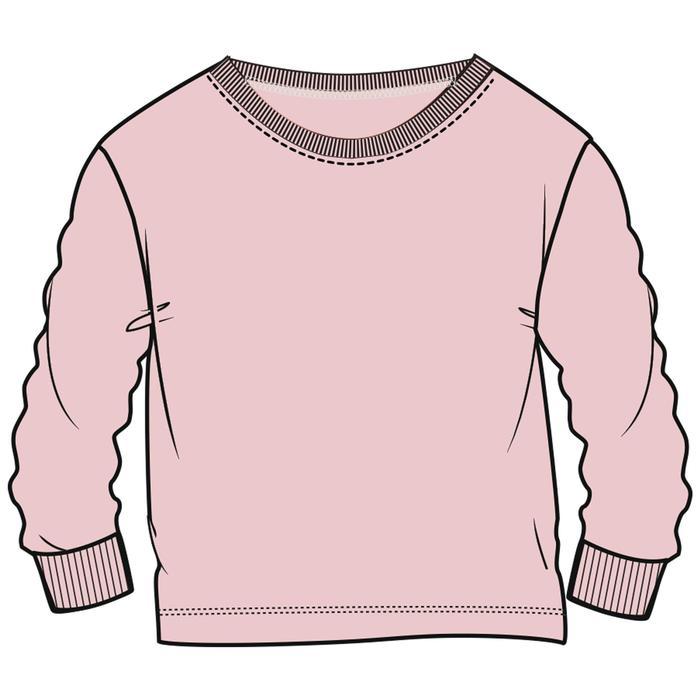 Sweatshirt warm Gym Kinder rosa