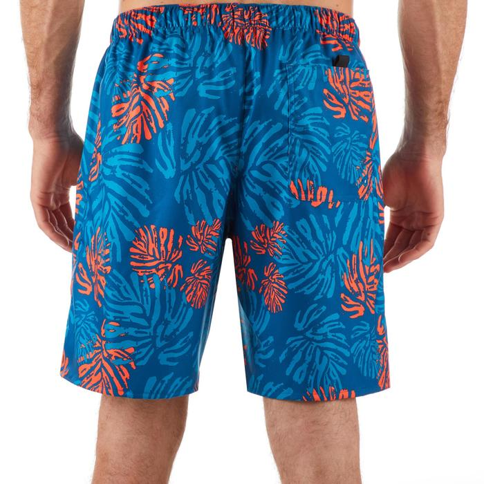 Surf boardshort standard 100 Funkyleaf Red
