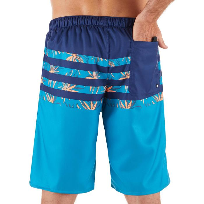100 Long Surfing Boardshorts - Flostripe Blue