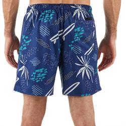 100 Short Surfing Boardshorts - Popfloral Blue