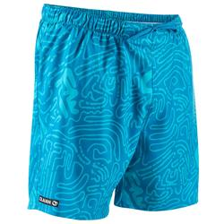 100 Short Surfing Boardshorts - Labyrinth Turquoise