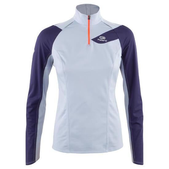 T-shirt met lange mouwen trail dames - 153612