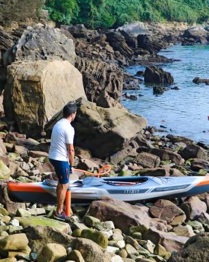 acceder-a-l'eau-en-kayak