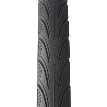 Шина City5 Protect для міського велосипеда, 26x1,75 - ETRTO 44-559 - Чорна