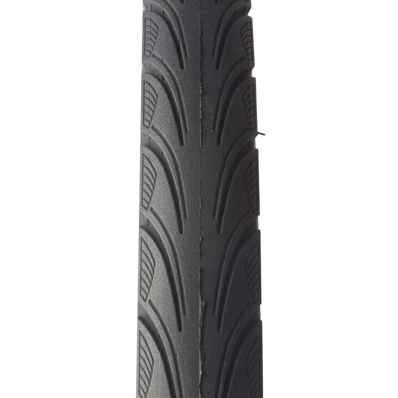 TYRES Cycling - City 5 Protect Hybrid Bike Tyre - 26x1.75 B'TWIN - Cycling
