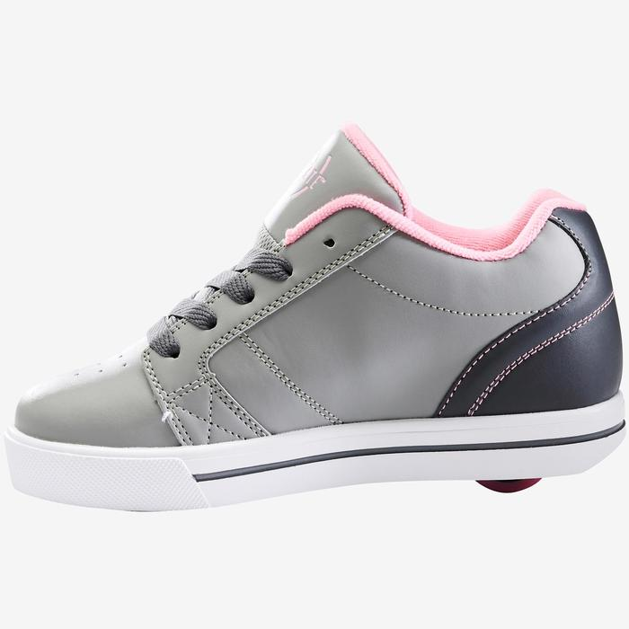 Chaussures Heelys Skate Mate Gris Rose une roue