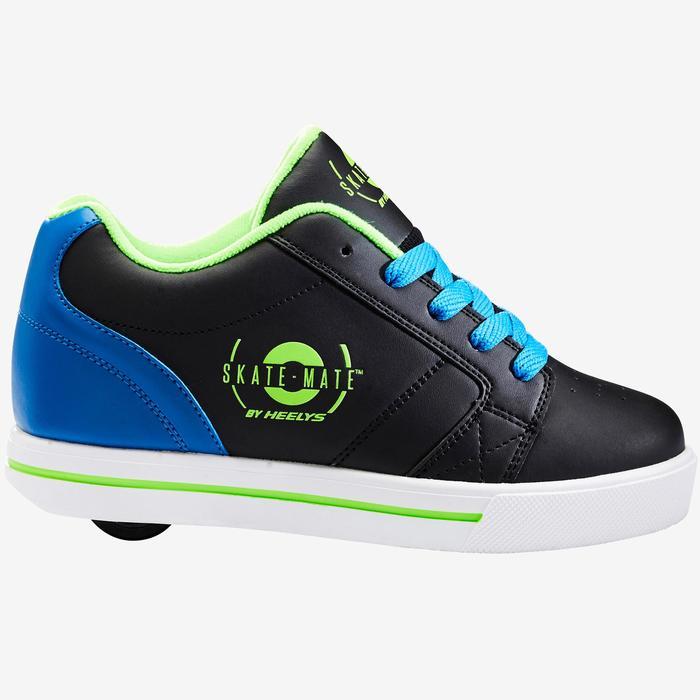 Heelys Skate Mate zwart/blauw één wiel