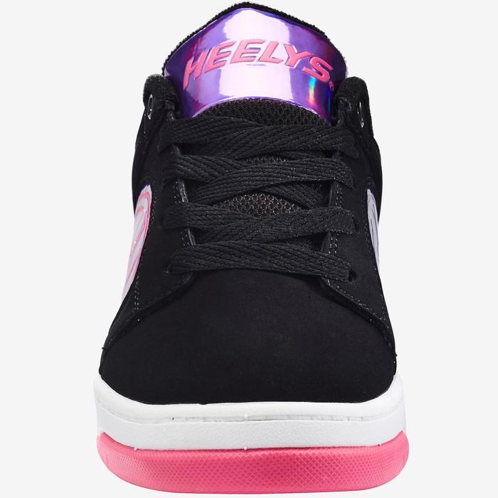 Rolschoenen Dual Up voor meisjes Neon 2 zwart paars