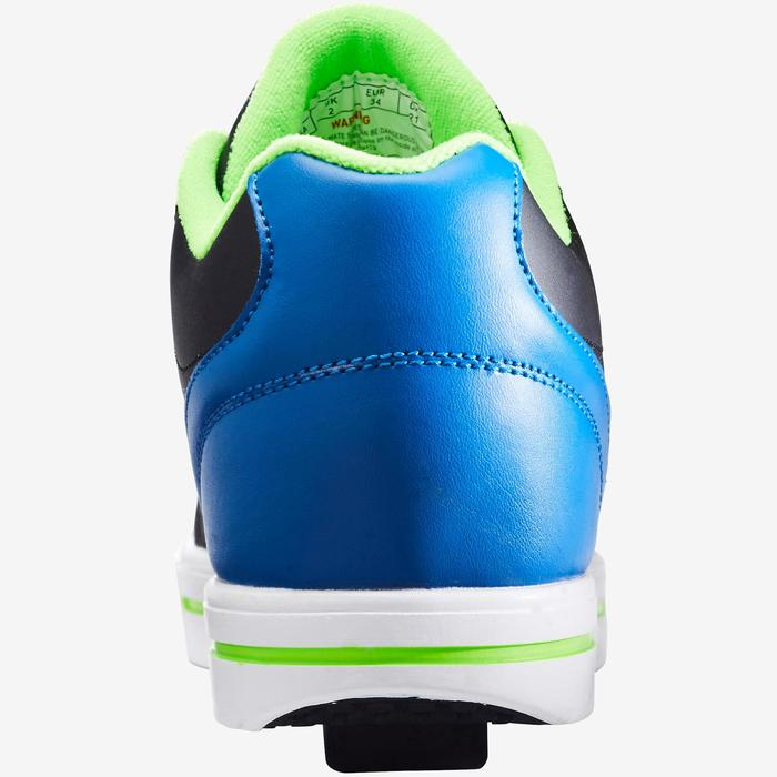 Zapatillas Ruedas Heelys Skate Mate Niño (Talla 33-39) Negro|Azul