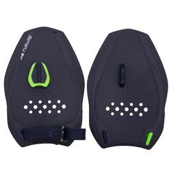 Swimming Hand Paddles Quick'in 500 Size M - Blue Green