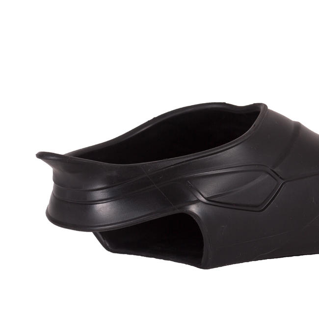 Swim fins long for advanced swimmers - Black red